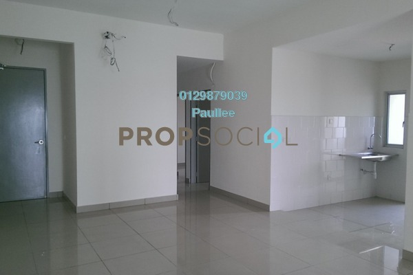 For Sale Condominium at The Wharf, Puchong Freehold Unfurnished 4R/2B 470k