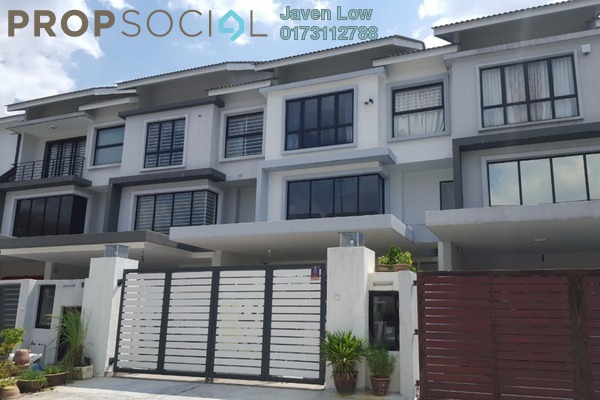 For Sale Terrace at Lake Fields, Sungai Besi Freehold Semi Furnished 5R/4B 1.1m