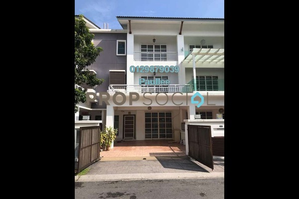 For Sale Terrace at Taman Meranti Jaya, Puchong Freehold Fully Furnished 5R/4B 950k