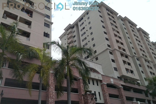 For Rent Apartment at Bougainvilla, Segambut Freehold Unfurnished 3R/2B 1.15k