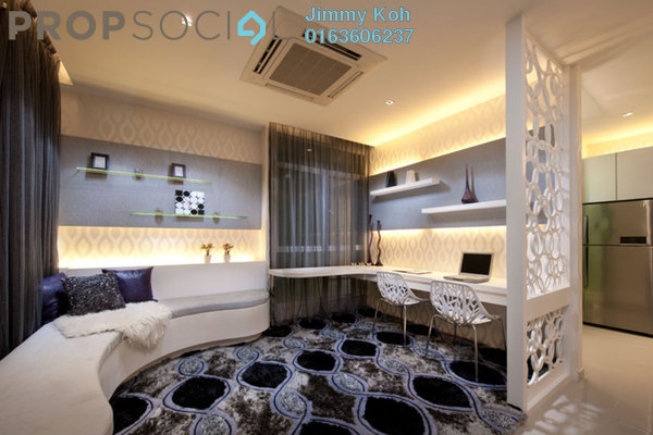 For Sale Condominium at The Z Residence, Bukit Jalil Freehold Fully Furnished 3R/2B 710k