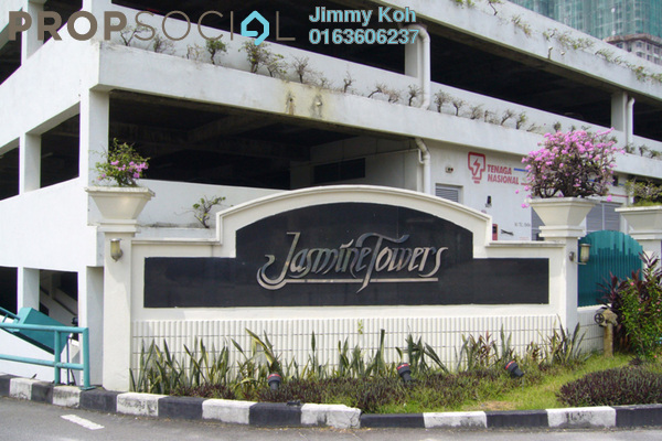 For Rent Condominium at Jasmine Towers, Petaling Jaya Freehold Fully Furnished 2R/2B 2k