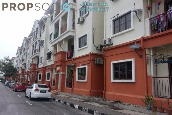 For Rent Apartment at Villa Danau, Setapak Freehold Semi Furnished 3R/2B 1.5k