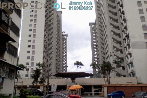 For Rent Condominium at Seri Cendekia Apartment, Cheras Freehold Fully Furnished 3R/2B 1.4k