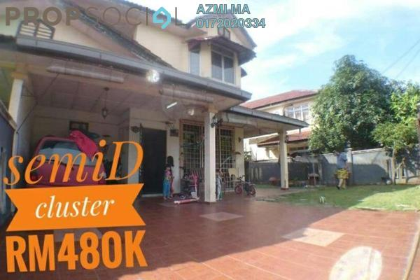 For Sale Semi-Detached at Taman Putra Perdana, Puchong Freehold Semi Furnished 4R/3B 480k