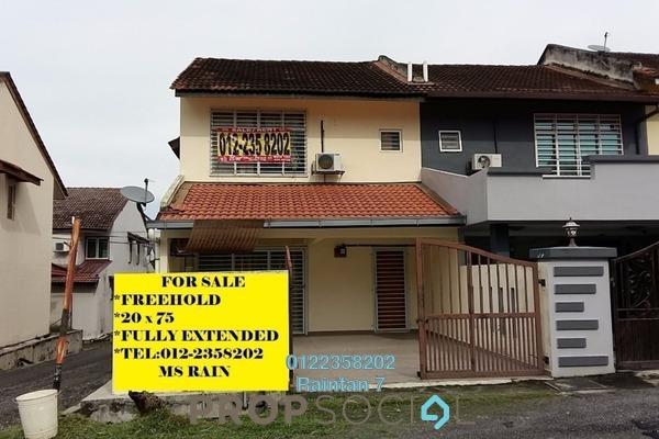 For Sale Terrace at Seksyen 9, Bandar Mahkota Cheras Freehold Unfurnished 4R/3B 588k