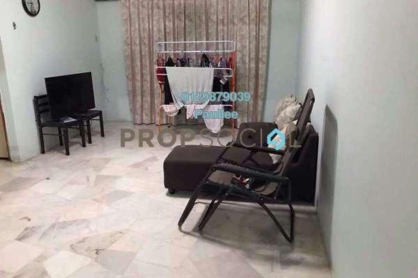 For Rent Condominium at Kenanga Apartment, Pusat Bandar Puchong Freehold Semi Furnished 3R/2B 1.1k