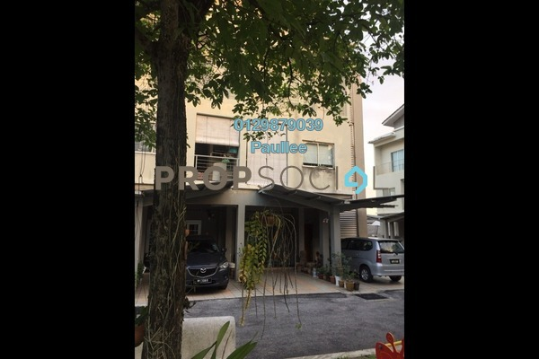 For Sale Townhouse at Merdu Idaman, Bandar Utama Freehold Semi Furnished 4R/4B 680k