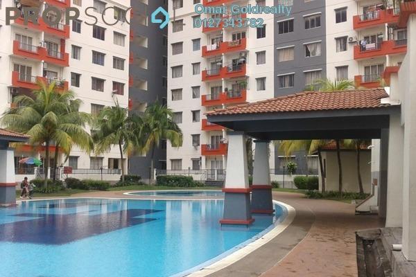 For Rent Condominium at Vista Pinggiran, Bandar Putra Permai Freehold Unfurnished 3R/2B 1k