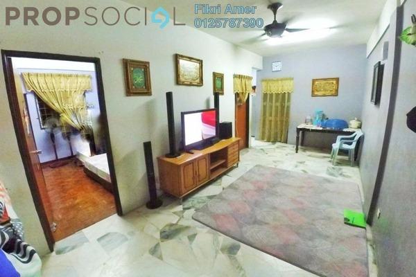 For Sale Apartment at Seri Mawar Apartment, Bandar Seri Putra Freehold Unfurnished 3R/2B 200k