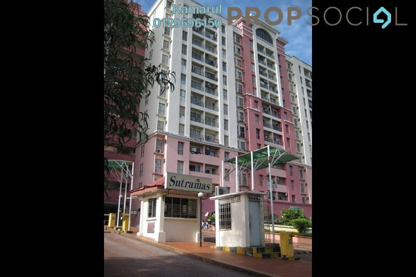 For Sale Apartment at Sutramas, Bandar Puchong Jaya Freehold Unfurnished 3R/2B 340k