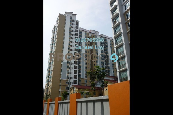 For Sale Condominium at Villa Park, Seri Kembangan Freehold Semi Furnished 4R/2B 430k