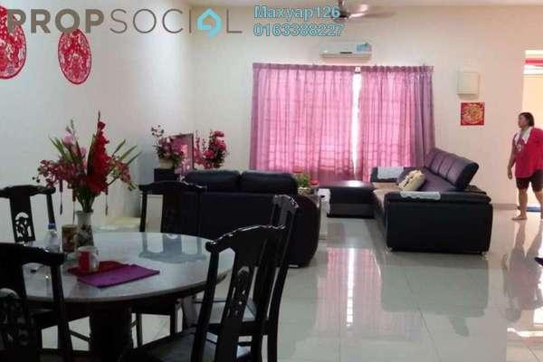 For Sale Terrace at Sutera Ria @ Sutera Damansara, Damansara Damai Freehold Semi Furnished 4R/4B 870k