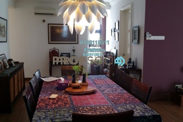 For Sale Condominium at Papillon Desahill, Taman Desa Freehold Fully Furnished 4R/2B 1.38m