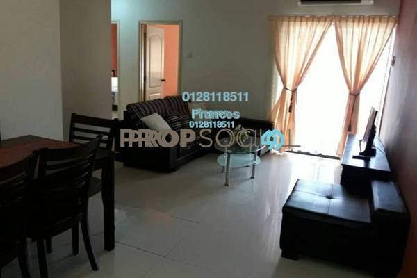 For Rent Apartment at Pelangi Utama, Bandar Utama Freehold Fully Furnished 3R/2B 2.2k