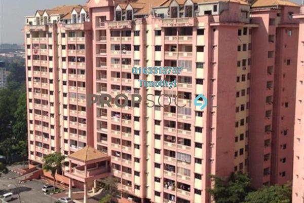 For Rent Condominium at Anggerik Villa 2, Kajang Freehold Unfurnished 3R/2B 750translationmissing:en.pricing.unit