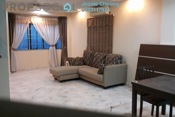 For Rent Apartment at Perdana Puri, Kepong Freehold Fully Furnished 3R/2B 1.1k