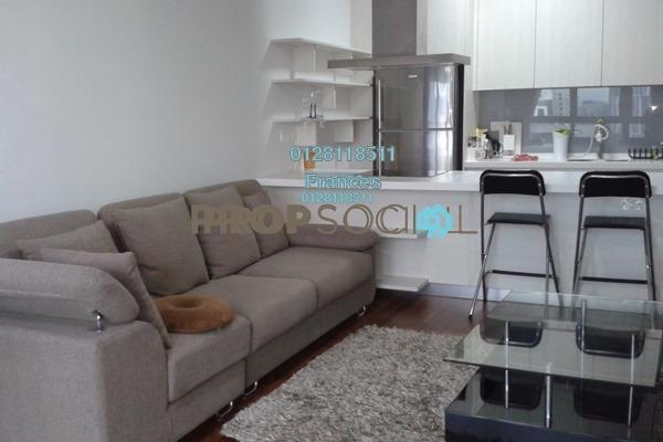 For Rent Condominium at Sixceylon, Bukit Ceylon Freehold Fully Furnished 1R/1B 3.4k