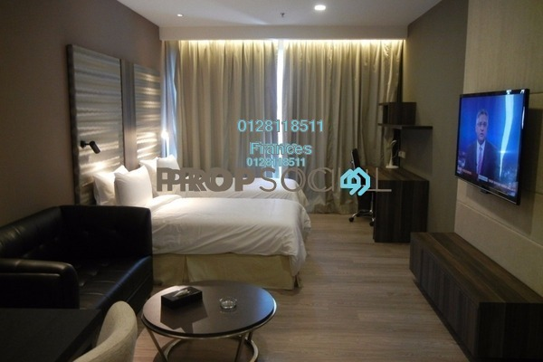 For Sale Condominium at One @ Bukit Ceylon, Bukit Ceylon Freehold Fully Furnished 1R/1B 700k