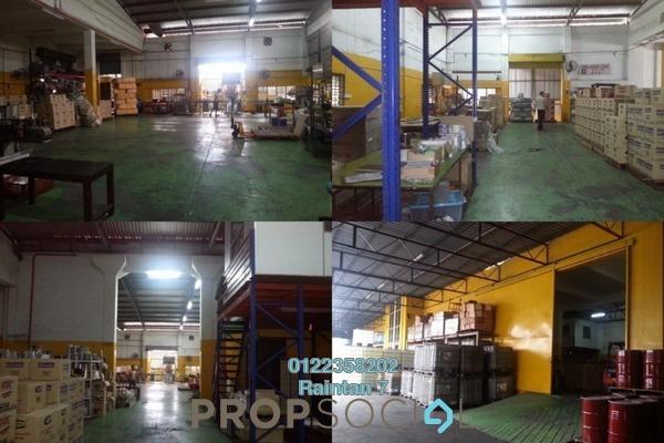 For Sale Factory at Bukit Kemuning Industrial Park, Kota Kemuning Freehold Unfurnished 3R/3B 3.55m