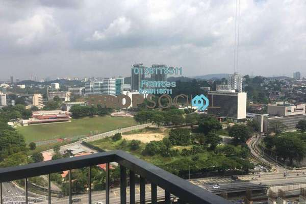 For Sale Condominium at KL Eco City, Mid Valley City Freehold Semi Furnished 2R/2B 1.45m