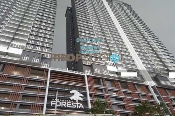 For Rent Condominium at Damansara Foresta, Bandar Sri Damansara Freehold Semi Furnished 3R/2B 2.8k