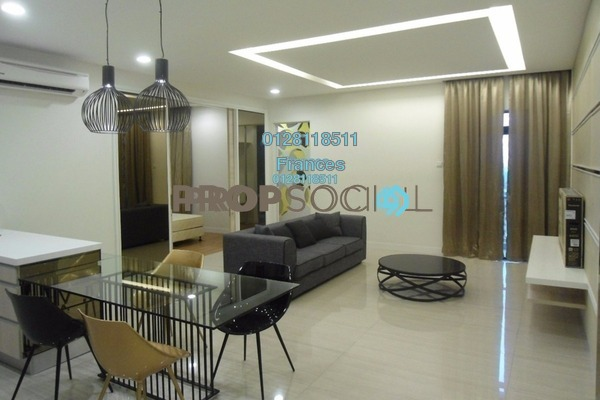 For Sale Serviced Residence at Eve Suite, Ara Damansara Freehold Fully Furnished 2R/2B 780k