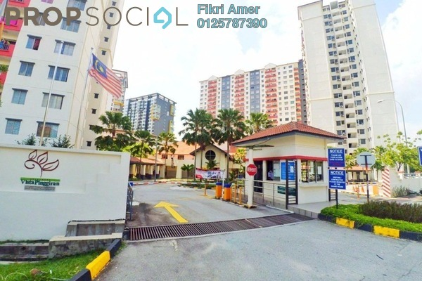 For Sale Apartment at Vista Pinggiran, Bandar Putra Permai Freehold Unfurnished 3R/2B 280k