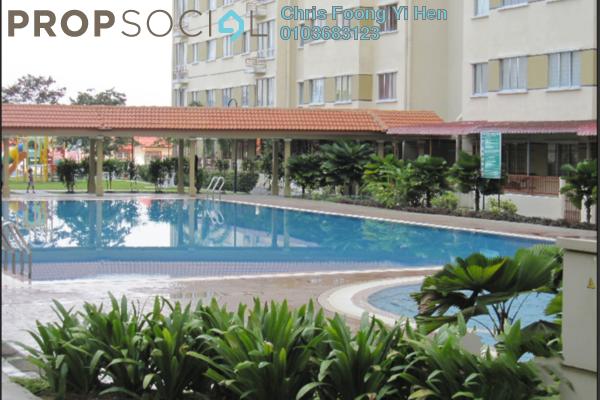 For Sale Condominium at Vista Impiana Apartment, Seri Kembangan Leasehold Semi Furnished 3R/2B 270k