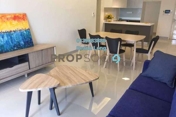 For Rent Condominium at Sierramas Heights, Sungai Buloh Freehold Fully Furnished 3R/2B 3.2k