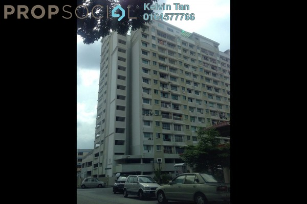 For Sale Apartment at Taman Kang Har Tong, Green Lane Freehold Unfurnished 3R/2B 380k