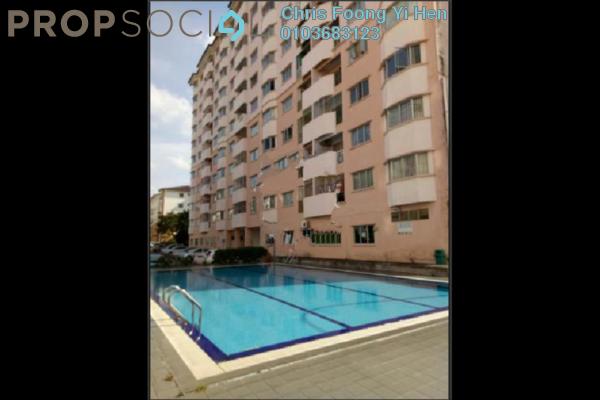 For Sale Apartment at Taman Bukit Serdang, Seri Kembangan Freehold Semi Furnished 3R/2B 318k