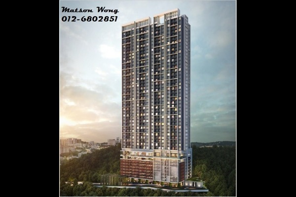 For Sale Condominium at The Hermington, Kuchai Lama Leasehold Unfurnished 3R/2B 440k
