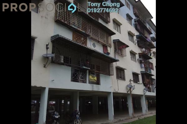 For Sale Apartment at Taman Tun Perak, Cheras South Freehold Semi Furnished 3R/2B 158k