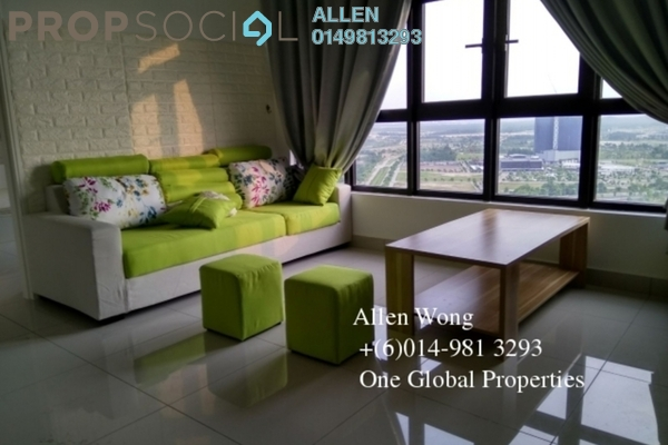 For Rent Condominium at The Meridin @ Medini, Medini Leasehold Fully Furnished 1R/1B 1.3k