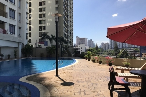 For Sale Condominium at Rivercity, Sentul Freehold Fully Furnished 3R/2B 490k