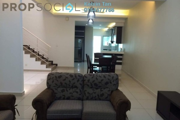 For Rent Terrace at One Residences, Sungai Besi Freehold Semi Furnished 4R/4B 2k