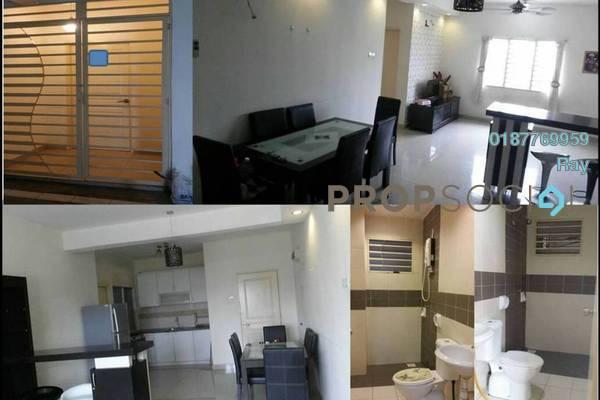 For Rent Apartment at Putra Suria Residence, Bandar Sri Permaisuri Freehold Semi Furnished 3R/2B 1.6k