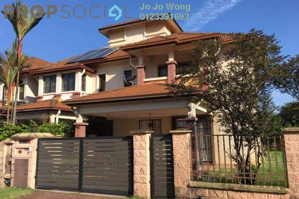 For Sale Terrace at Section U8, Bukit Jelutong Freehold Semi Furnished 4R/3B 1.38m