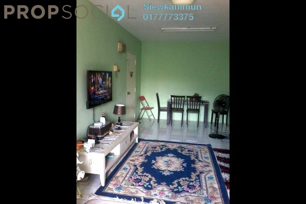 For Sale Apartment at Bayu Apartment, Damansara Damai Freehold Semi Furnished 3R/2B 270k