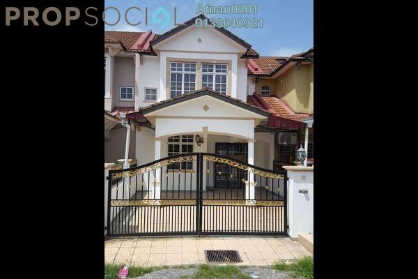 For Sale Terrace at Bandar Puncak Alam, Kuala Selangor Freehold Unfurnished 4R/3B 420k