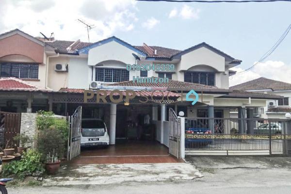 For Sale Terrace at Taman Maju 2, Kajang Freehold Semi Furnished 4R/3B 419k
