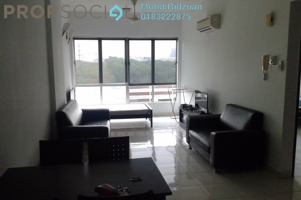 For Rent Serviced Residence at e-Tiara, Subang Jaya Freehold Fully Furnished 2R/2B 1.6k