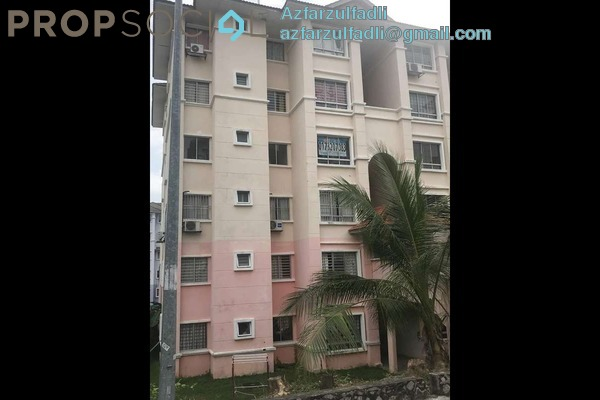 For Rent Apartment at Residensi Warnasari, Puncak Alam Freehold Semi Furnished 3R/2B 680translationmissing:en.pricing.unit