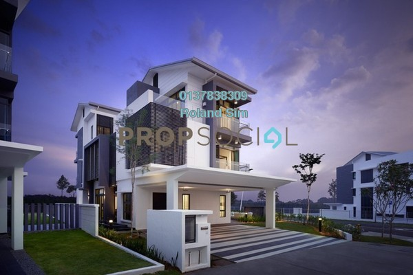 For Rent Semi-Detached at Sejati Residences, Cyberjaya Freehold Unfurnished 6R/6B 3.5k