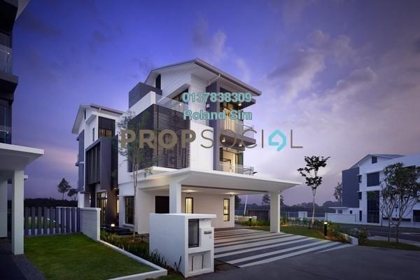 For Rent Semi-Detached at Sejati Residences, Cyberjaya Freehold Unfurnished 6R/6B 3.5k