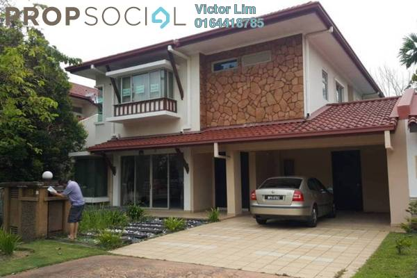 For Sale Bungalow at Setia Eco Park, Setia Alam Freehold Semi Furnished 6R/6B 2.8m