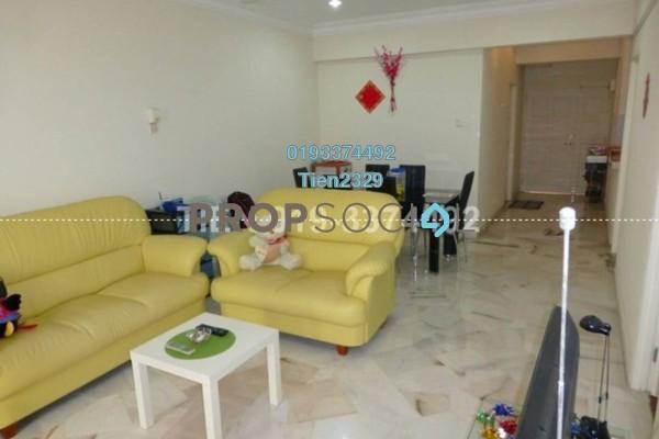For Sale Condominium at La Villas Condominium, Setapak Freehold Semi Furnished 3R/2B 420k