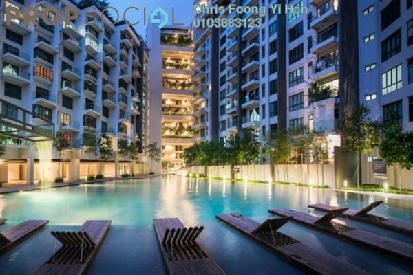 For Rent Condominium at Univ 360 Place, Seri Kembangan Freehold Semi Furnished 1R/1B 1.3k