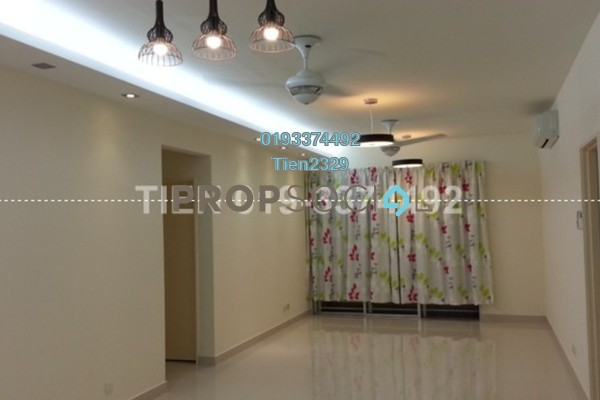 For Sale Condominium at Platinum Hill PV2, Setapak Freehold Semi Furnished 4R/2B 635k